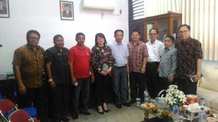 Komisi II DPRD Tomohon Kunker di Kotamobagu Terkait Perda Sanitasi