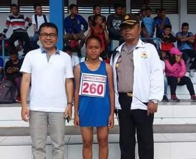 Ashanty Kaeng, Muka Baru Kejutkan Arena Atletik PORProv Sulut