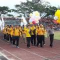 Delegasi Tomohon Pukau Opening Ceremony PORProv IX Sulut