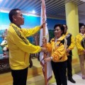 Dilantik Wenur, Kontingen PORProv IX Kota Tomohon Dilepas Eman