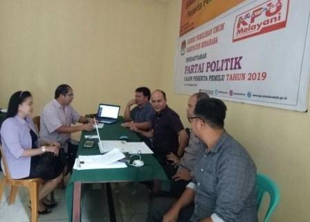 Dua Parpol di Minahasa Konsultasi ke KPU