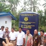 Menteri ESDM Iganatius Johan Resmikan Lima Sumur Bor Air Tanah