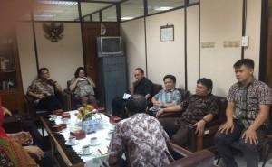 Komisi I DPRD Tomohon Kunker di Bogor