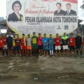 PORProv IX Sulut, Sepakbola Tomohon Tampilkan Talenta Wajah Baru