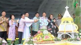 Pesona Ultah 55 PKB GMIM, Jadi Wisata Religi Warga Gereja