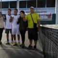 Tenis Lapangan Sumbangkan Emas Perdana Kota Tomohon