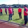 WS Pimpin ASN Minahasa Kerja Bakti di Stadion Maesa
