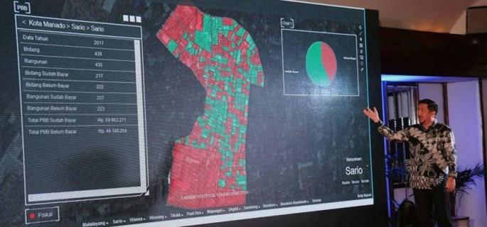 Wawali Mor Presentasikan Keunggulan Geospasial Manado