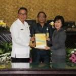 DPRD Tomohon Paripurnakan APBD 2018
