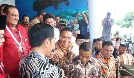 Dibuka Jokowi, Walikota JFE Hadiri Kongres GMNI