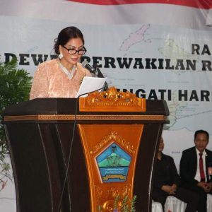 Bupati Panambunan berterima kasih atas perjuangan dari deklarator pejuang pendiri Kabupaten Minut