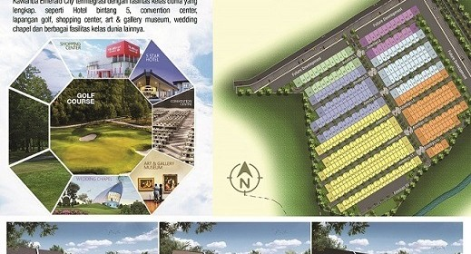 Cluster Amethyst Persembahan Kawanua Emerald City