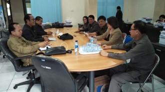 Pansus Pengendalian Permukiman Kumuh DPRD Tomohon, Gelar Pembahasan Internal