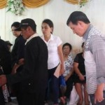 Walikota GSVL Hadiri Ibadah Pemakaman Korban Kecelakaan Lalu Lintas di Tuminting