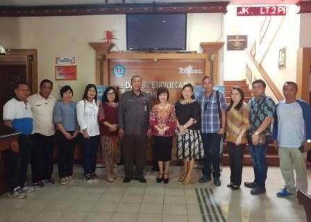 Wenur Sharring Strategi Prestasi Olahraga Kota Denpasar Bali