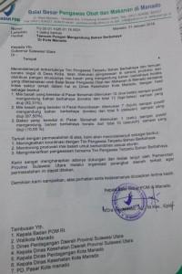 surat BPOM