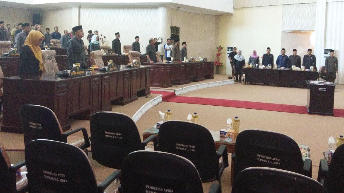 DPRD Bolmut Sukses Gelar Sidang Paripurna Penetapan 26 Ranperda