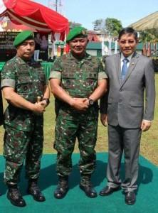 Walikota Vicky Lumentut mengapresiasi apa yang dilakukan TNI dalam menjaga kedaulatan Republik Indonesia
