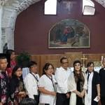 Boyong Tokoh Gereja,  Wawali SAS Kunjungi Israel