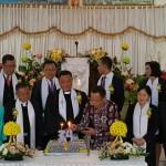 Mandagi Wakili Walikota JFE di Ultah GMIM Kanaan Uluindano