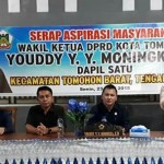 Reses Moningka, Angkat Soal Pemberdayaan Masyarakat