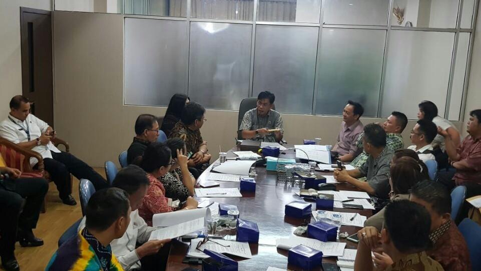 Pansus Ranperda Pemakamam dan Pengabuan Konsultasi di Kementrian ATR/BPN