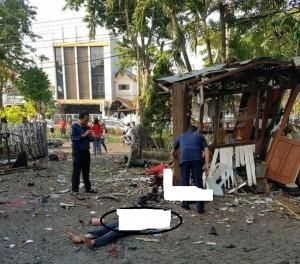 informasi sementara 3 orang  meninggal dunia dan 11 orang luka berat