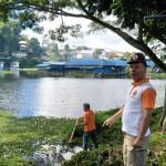 Jelang TIFF 2018, BPBD Mulai Bersihkan Danau Sineleyan