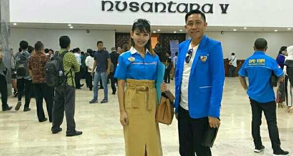 KNPI Mitra Wakili Indonesia Timur di Gedung MPR
