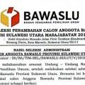 Seleksi Bawaslu Sulut foto