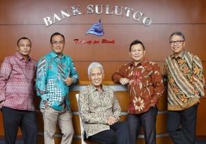Direksi Bank Sulut. Foto BSG