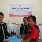 KPU Tomohon Gelar Pleno DPHP Pemilu 2019 di 5 Kecamatan