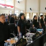 Paripurna DPRD Tomohon, Pendapat Fraksi Soal Ranperda Susunan Perangkat Daerah