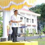 Pasca Libur Lebaran, Walikota JFE Pimpin Apel Perdana