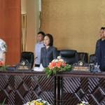 DPRD Gelar Paripurna Jawaban Walikota Terhadap Perubahan Perangkat Daerah
