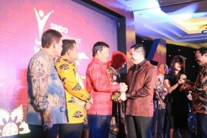 Sindo Weekly Government Award 2018 di Balroom Pullman Hotel Jakarta