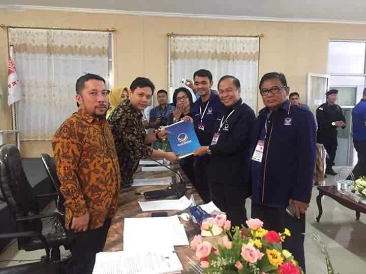 Lomban: Nasdem akan Berjuang jadi Partai Rangking 2 di Sulut