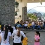 Lolowang Hadiri Olahraga Pagi Ultah Bhayangkara