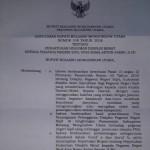 Bupati Bolmut Copot Samin Dari Jabatan Kepala Kesbangpol