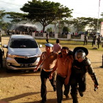 Aksi Demo Aliasi RBM Dikantor KPUD Bolmut Berakhir Ricu