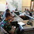Persiapan Pembukaan TMMD Reg ke 102 Kasdim 0714 Adakan Koordinasi Dengan Jajaran