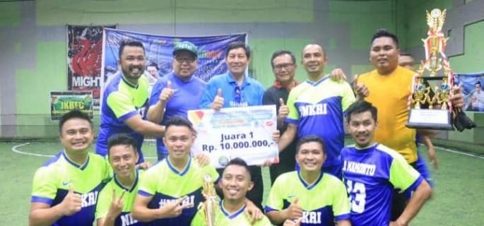Wartawan Kotamobagu Jawara Journalist Futsal Competition 2018