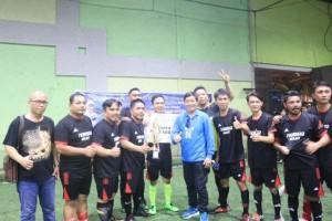 kejuaraan Futsal antar wartawan bertajuk Journalist Futsal Competition 2018 se-Sulawesi Utara (Sulut) yang diselenggarakan Ikatan Wartawan Online (IWO) Kota Manado sukses