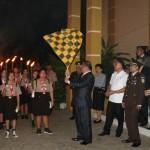 Pawai Taptu Jelang Peringatan 73 Proklamasi Kemerdekaan RI