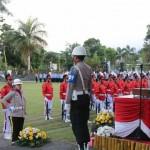 Upacara Penurunan Bendera HUT Proklamasi RI