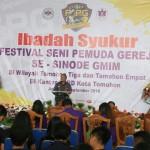 Lolowang: FSPG Mampu Tumbuhkan Kebersamaan Pemuda Gereja