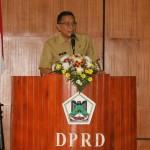 Walikota JFE Sampaikan Tanggapan Pada Fraksi Terkait APBD 2019