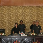 Walikota JFE Hadiri Paripurna DPRD Pemandangan Fraksi Terkait APBD 2019