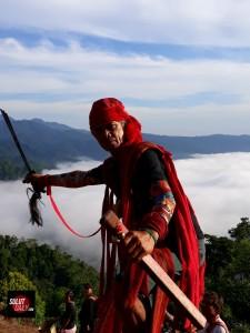 Pemerhati alam dan budaya Albert Langitan
