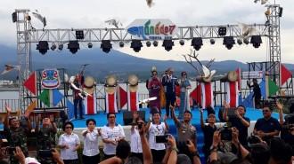 Tjahjo Kumolo dan Olly Dondokambey Hadiri Opening  Ceremony Manado Fiesta 2018
